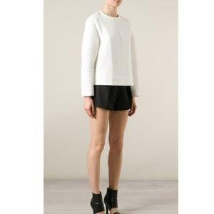 Helmut Lang Textured Long Sleeve Sweatshirt